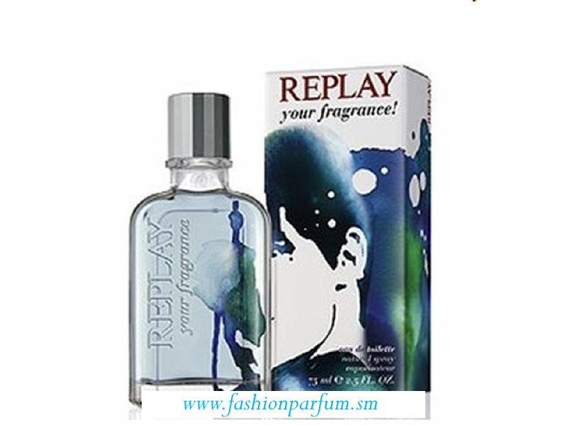 Replay Your Fragrance! for Him by Replay  EDT  TESTER  75 ML.