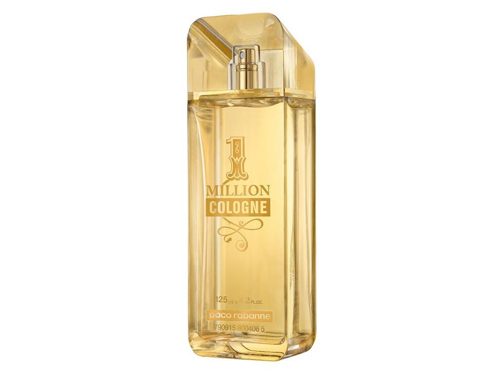 1  Million Cologne Uomo  by Paco Rabanne EDT NO BOX 125 ML.