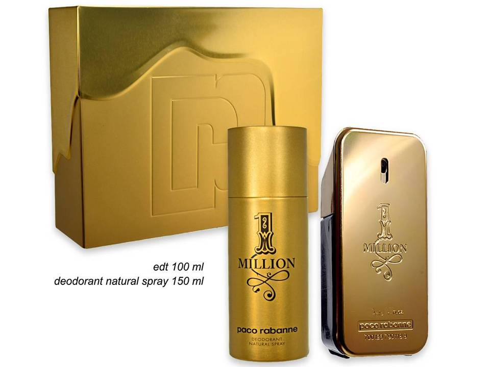 Cofanetto 1 Million Uomo by Paco Rabanne CON DEODORANTE