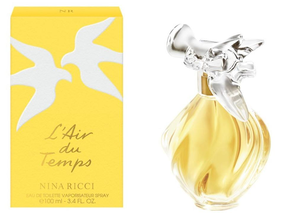 L'Air du Temps by Nina Ricci Eau de Toilette NO BOX 100 ML.