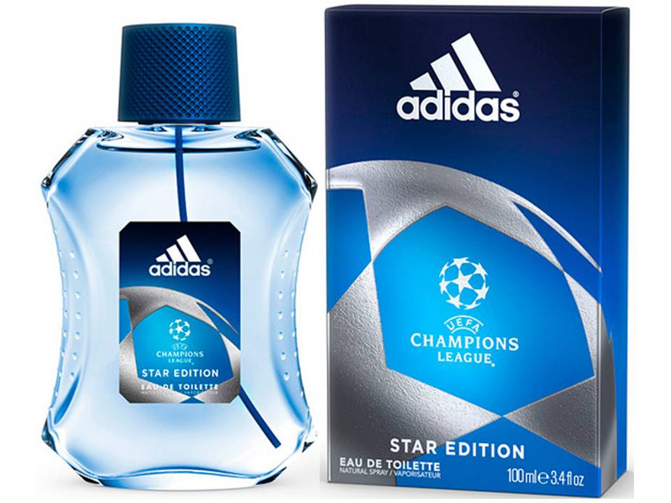 UEFA Champions League Star Edition by Adidas EDT NO BOX 50 ML.