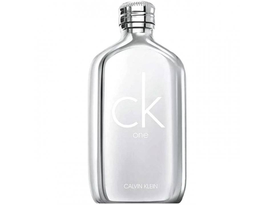 CK  One Platinum  for women and men EDT TESTER 100 ML.