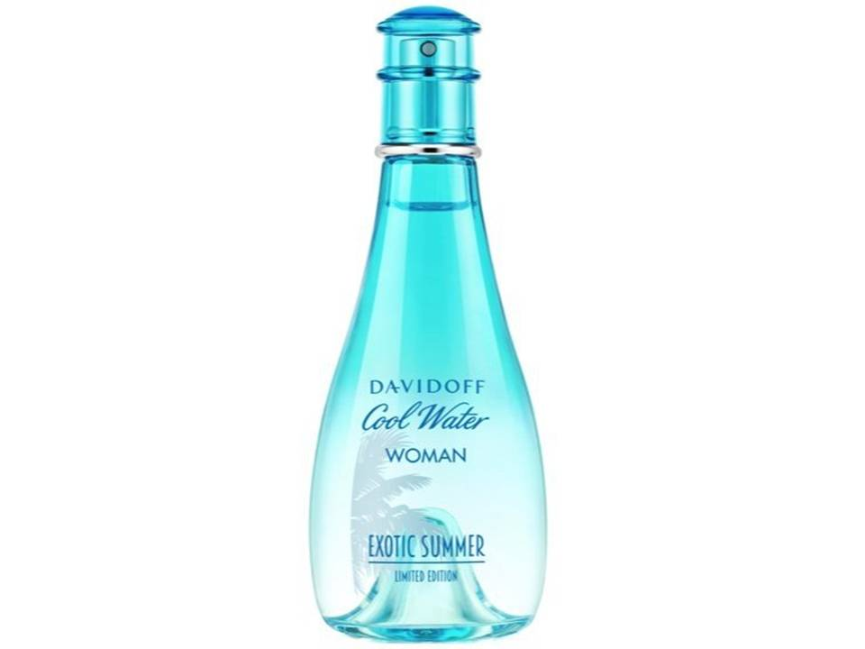 Cool Water Exotic Summer Donna by Davidoff EDT NO BOX 100 ML.