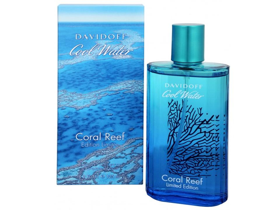 Cool Water Uomo Coral Reef by Davidoff EDT NO BOX 125 ML.