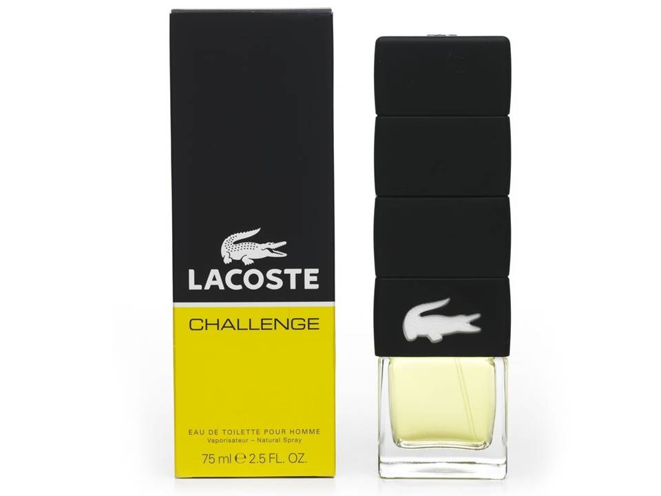 Challenge Uomo by Lacoste  EDT TESTER 90 ML.