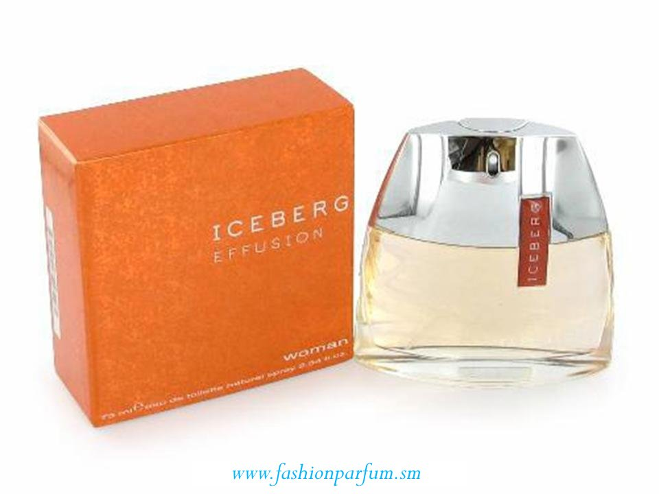 Iceberg Effusion Donna by Iceberg  EDT  NO TESTER 75 ML.