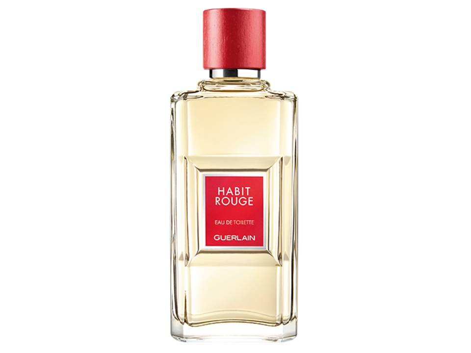 Habit Rouge Uomo  by Guerlain EDT TESTER 100 ML.