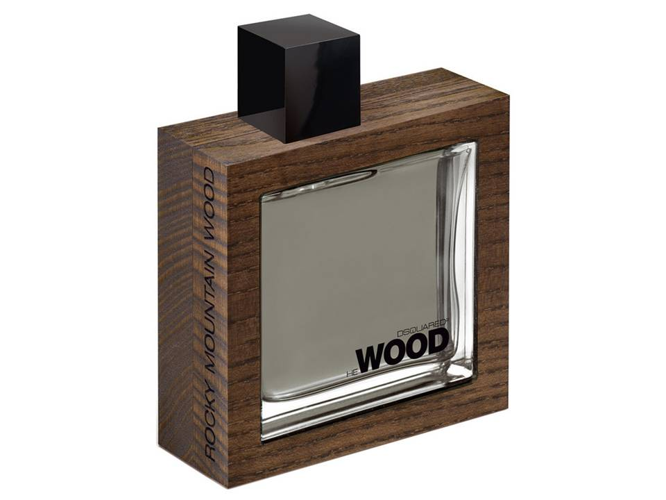 He Wood Rocky Mountain Wood Uomo by DSQUARED  TESTER 100 ML.
