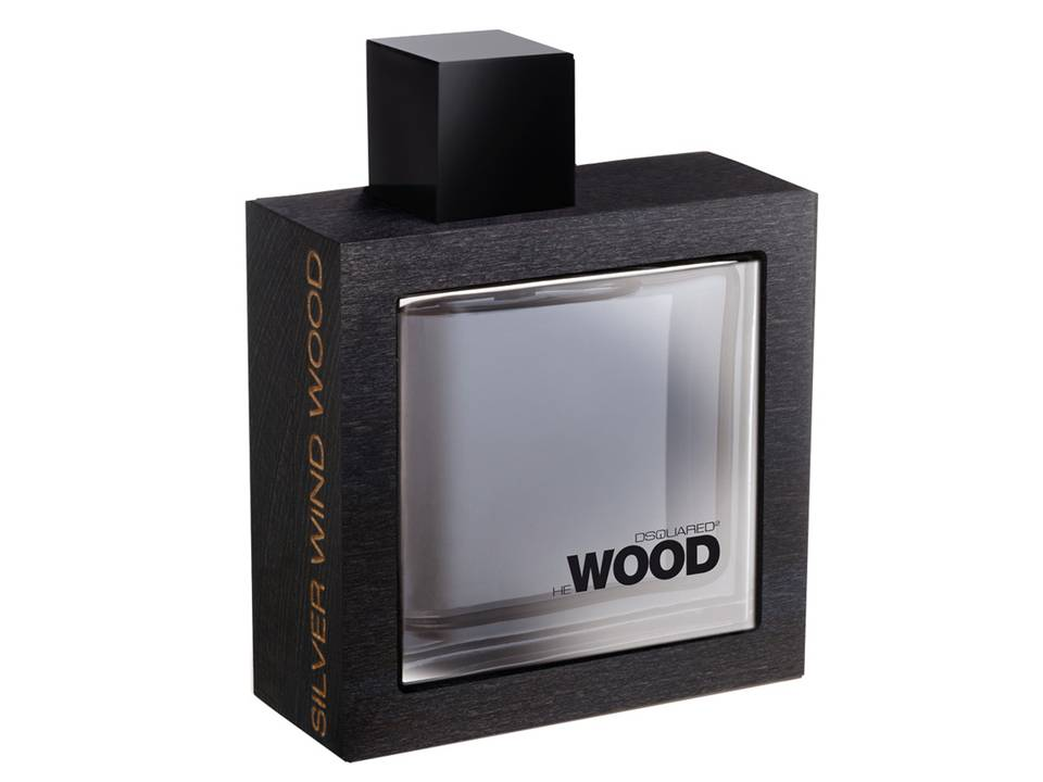 He Wood Silver Wind  Wood Uomo by DSQUARED EDT TESTER 100 ML.