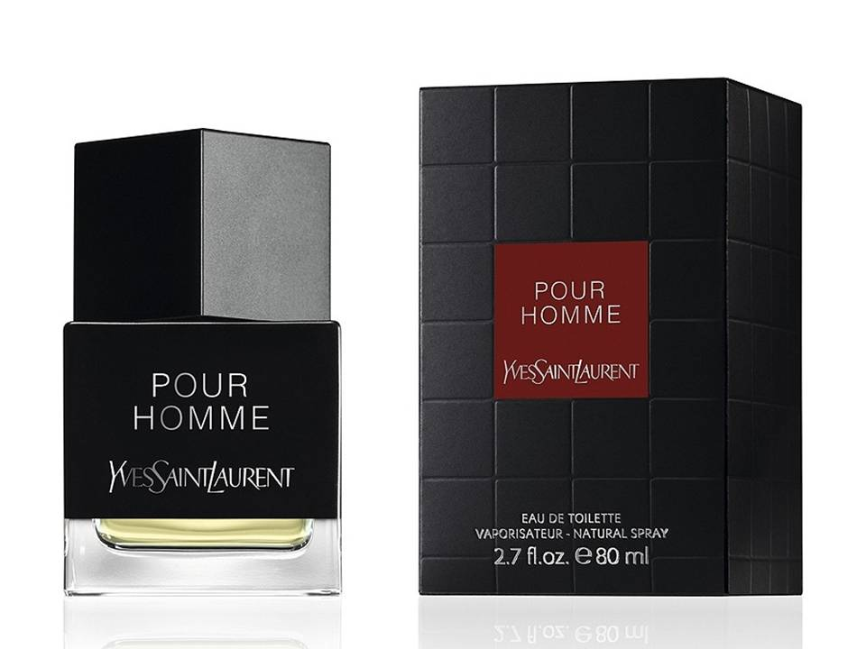 ^Pour Homme by Yves Saint Laurent  EDT TESTER 80 ML.