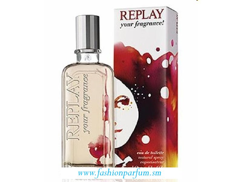 Replay Your Fragrance! for Her by Replay EDT  TESTER  60 ML.