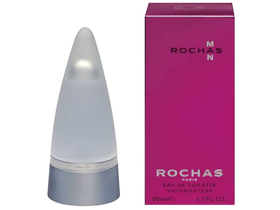 Rochas Man by Rochas Eau de Toilette NO TESTER 50 ML.