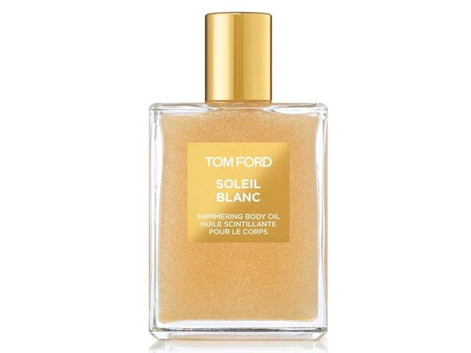 *Soleil Blanc by Tom Ford  SHIMMERING BODY OIL TESTER 100 ML.