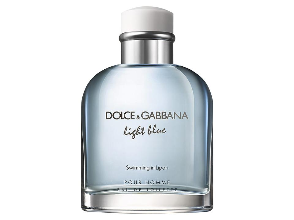 Light Blue Uomo SWIMMING IN LIPARI by D&G EDT TESTER 125 ML.