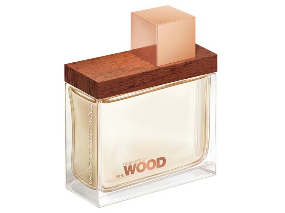 She Wood Velvet Forest  Donna by DSQUARED EDP TESTER 100 ML.