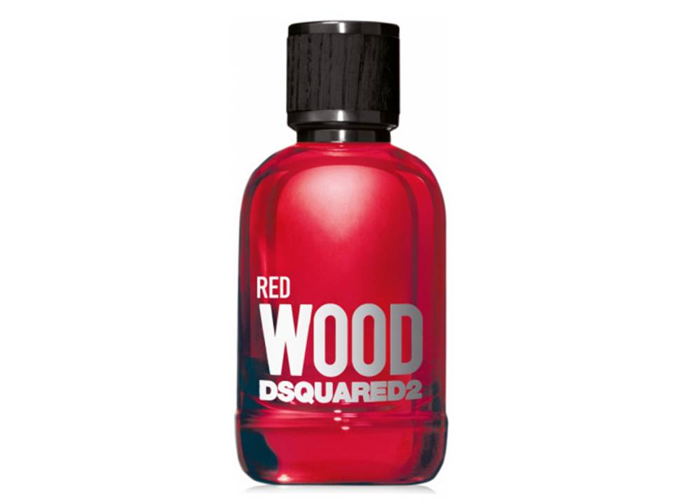 Wood RED Donna by DSQUARED² Eau de Toilette TESTER 100 ML.