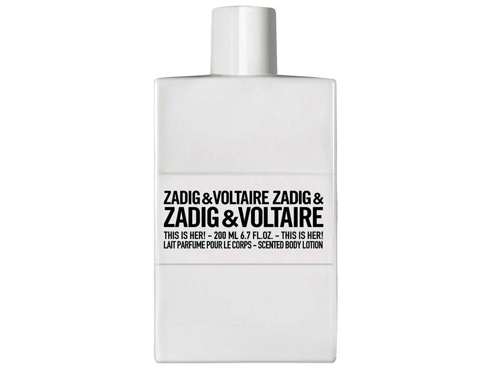 This is Her  by Zadig & Voltaire BODY LOTION 200 ML.