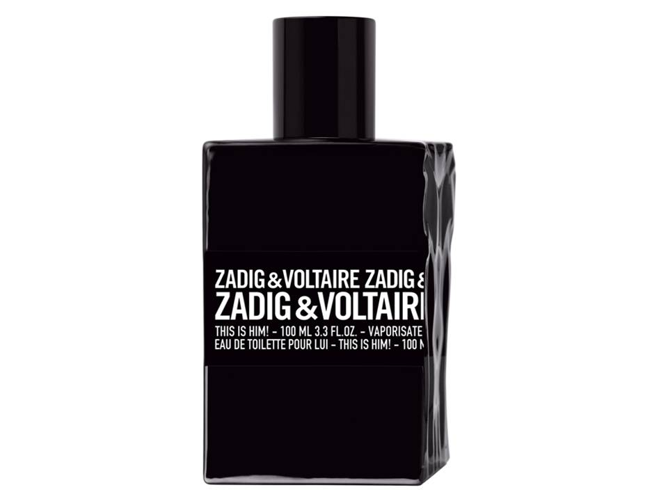 This is Him  by Zadig & Voltaire EDT TESTER 100 ML.