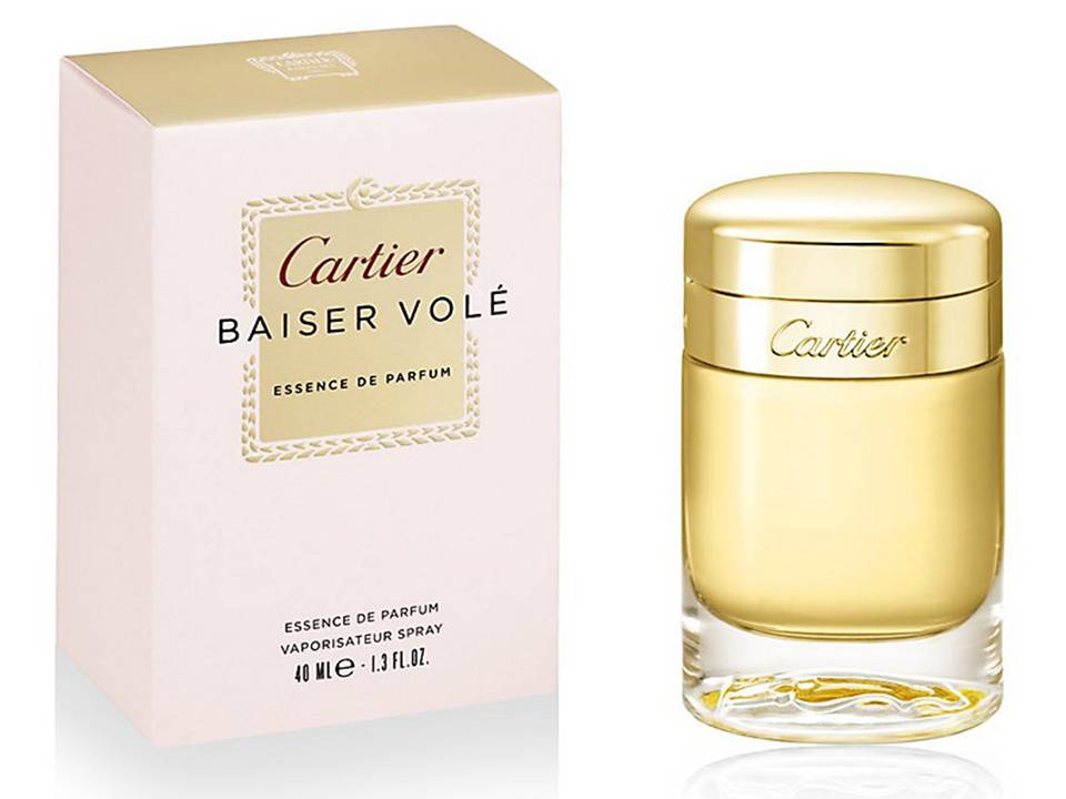 Baiser Vole Essence de Parfum by Cartier TESTER 40 ML.