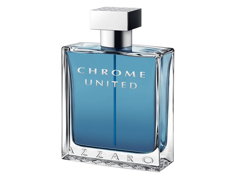 Chrome United Uomo by Azzaro EDT NO BOX 100 ML.